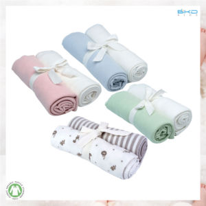2-Pack Baby Clothing Plain Baby Nursing Cover pictures & photos