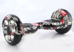 10 Inch Electric Self-Balance Scooter with Flashing Light, Bluetooth, Big Wheel pictures & photos