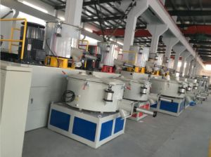 Hot and Cold Mixing Unit for WPC Raw Materials