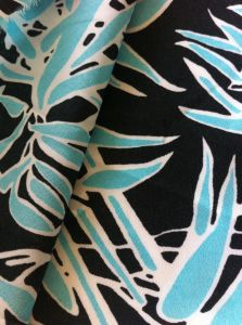 100% Polyester Printed Spandex Chiffon Fabric Stretch Chiffon Fabric for Dress pictures & photos