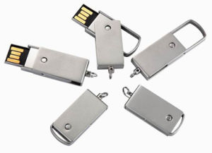 Metal Swivel Custom Promotional USB Flash Drive pictures & photos
