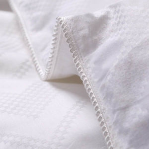 Jacquard Cotton 300tc Cover Infill Mulberry Silk Duvet Hotel pictures & photos