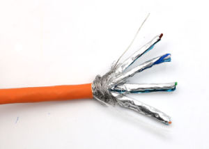 STP Cat 7 LAN Cable in Copper pictures & photos