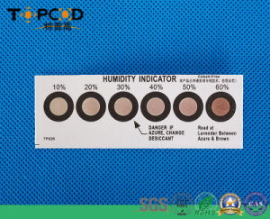 Humidity Indicator Card Pass RoHS (HIC) pictures & photos