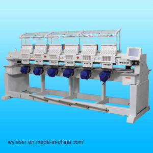 High Precision 6 Head Embroidery Machine Better Than Swf Embroidery Machine pictures & photos