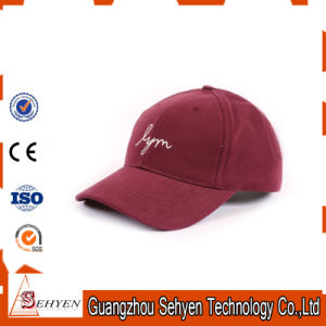 Cotton 3D Embroidery 6 Panel Baseball Sports Cap Hat pictures & photos