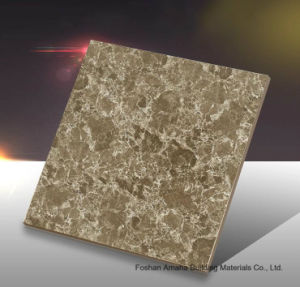 Foshan Tile Building Material Full Body Light Polished Glazed Porcelain Floor Tile Yellow (BMG23P) pictures & photos