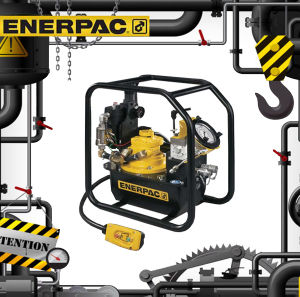 Original Enerpac Bp-Series Battery Powered Hydraulic Pumps (Bp-122e) pictures & photos