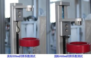 LCD Display Automatic Foam Resilience Strength Tester Machine pictures & photos