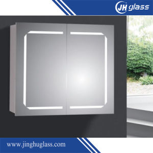 4mm LED Mirror Cabinet with IP44 for Hotel pictures & photos