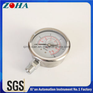 Pressure Gauges Manufacuturer Oil Filled All Ss Manometers pictures & photos