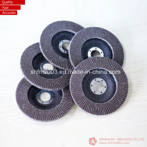 "5"" Aluminum Threaded Flap Disc T29 Conical for Polishing and Grinding pictures & photos"