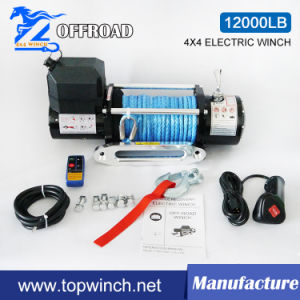 SUV Waterproof Electric Winch with Wireless Remote Control Kit (12000lbs-2) pictures & photos