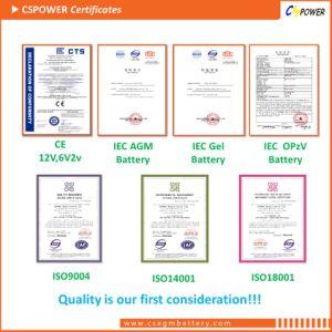 6V200ah VRLA Battery AGM Battery 6V 200ah CS6-200d pictures & photos
