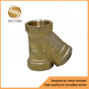 Brass Y Type Filter with Dn50/40 Pn16 Thread Size pictures & photos