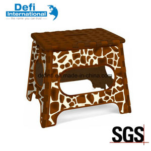 Thermal Transfer Printing for Children Folding Small Stool pictures & photos