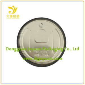 Aluminum Easy Open Tin Cover Eoe 307# Dia. 83.3mm pictures & photos