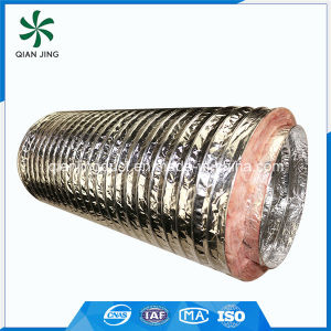 Non-Flammable Owens Corning Insulated Aluminum Flexible Duct for HVAC pictures & photos