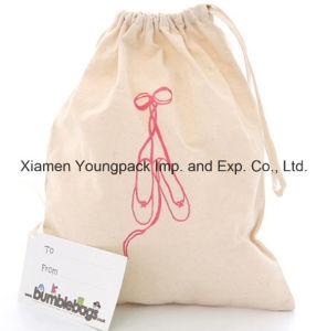Promotional Custom Eco-Friendly Reusable Black Cotton Tote Bag 38X42cm pictures & photos