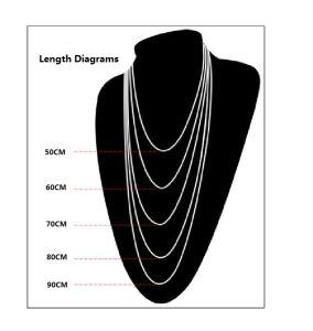 Link Chain Men Necklace Titanium Steel 2.5mm 3.5mm 4.5mm pictures & photos