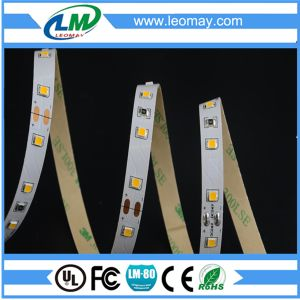 Super Bright 24V LED Strip For Building Decoration(SMD2835-60LEDs-W) pictures & photos
