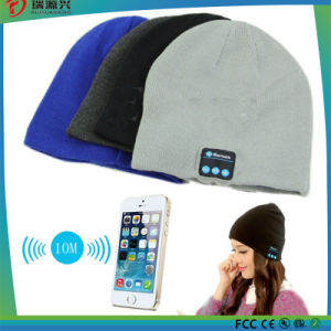 Warm Beanie Wireless Bluetooth hat Smart Cap with Headphone Headset Speaker pictures & photos