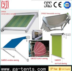 2017 New Design Drop Arm Window Awning pictures & photos