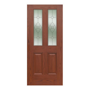 Environment Friendly Double-Leaf Door Door pictures & photos