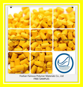 Yellow Plastic Material Masterbatch pictures & photos