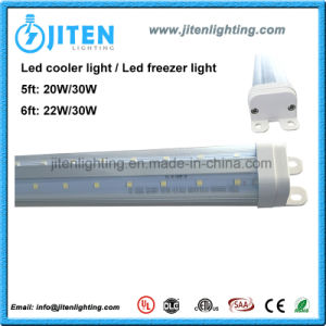 LED Cooler Inner Door Light 6FT V Shape T8 LED Cooler Tube Light 30W ETL Dlc pictures & photos