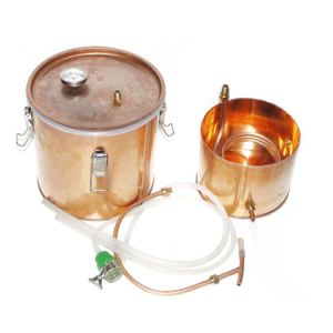 18L Kingsunshine Red Copper Household Alcohol/Water Distiller pictures & photos