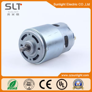 24V Protected DC Electric Brushed Motor for Garden Instrument pictures & photos