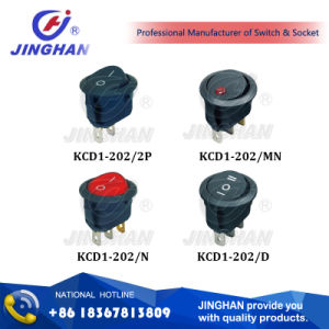 Kcd1-202 Universal Car Switch/12V Rocker Switches 20mm pictures & photos