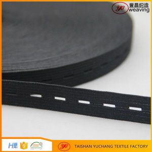 Wholesaler OEM Garment Accessory Knitted Color Elastic Band pictures & photos