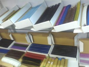 Plastic Twin Ring Wire for Book Binding pictures & photos