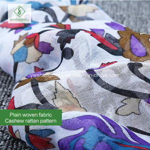 100% Viscose Newest Cashew Rattan Printed Shawl Fashion Lady Scarf pictures & photos