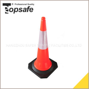 LDPE 1m 5.0kgs Road Safety Traffic Cone pictures & photos