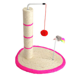 Cat Litter Cat Tree Climb Cats Ball Mouse Toy Sisal Grinding Claws pictures & photos