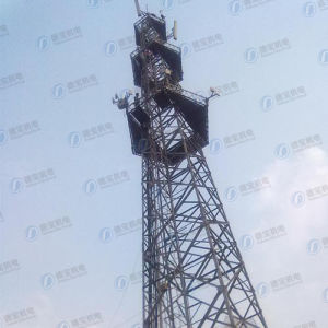 HDG Steel Structure Microwave Tubular Tower pictures & photos
