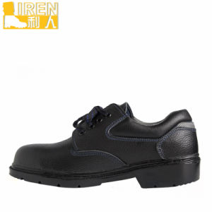 Black Military Uniform Leather Shoes pictures & photos