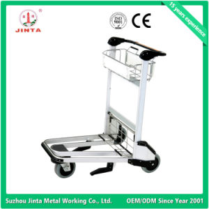 Brake Aluminum Airport Luggage Trolley pictures & photos