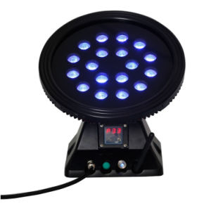 DMX 4in1 RGBW Color Changing Wireless LED Wall Wash Light pictures & photos