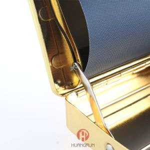 Gold of The Metal Cigarette Rolling Box pictures & photos