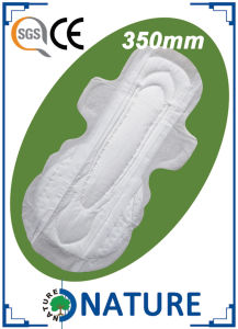 Hot Sale OEM Non Woven Best Disposable Sanitary Napkin for Night pictures & photos