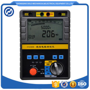 Digital Display High Voltage Insulation Resistance Tester Ohmmeter pictures & photos