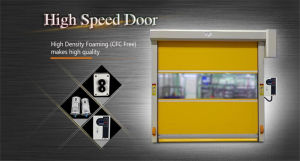Automatic Industrial PVC Rapid Rolling Door pictures & photos