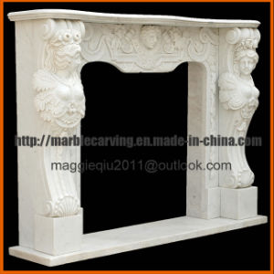Female Statue Fireplace Mantel Mf1723 pictures & photos