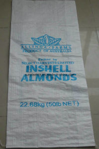 100% New Material 25kg PP Woven Bag