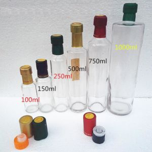 Glass Oil Bottle Olive Oil Glass Bottle Cylinder Bottle Olive Oil Glass Bottle 100ml 250ml 500ml 750ml 1000ml pictures & photos
