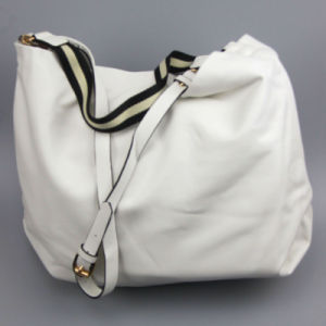 White Fashion PU Handbag Fashion Bags Supplier pictures & photos